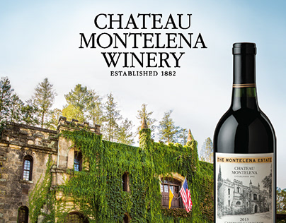 Chateau Montelena Winery rack card