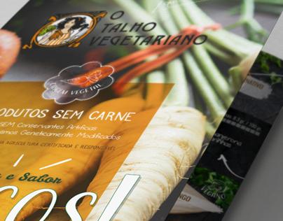The Vegetarian Butcher promotional brochure
