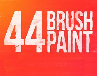 44 Brush Paint 4K