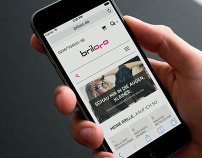 Responsive eCommerce Website | Briloro.de