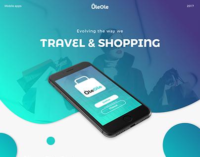 OleOle: A Travel & Shopping App - UI Design