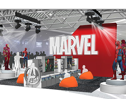 marvel store in store