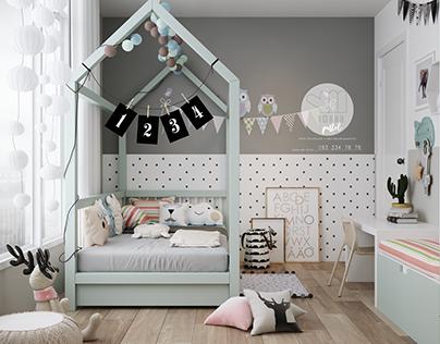 kid room pastel sweet love design: imadepastel