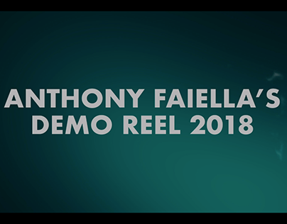Animation Demo Reel 2018