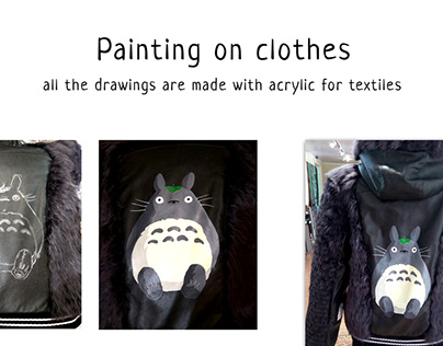 Painting on clothes