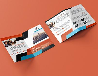 Two Side Bi-Fold Brochure Design