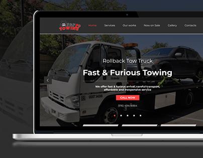Fast & Furious Towing, UI&UX design