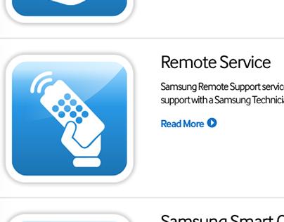 Samsung icons