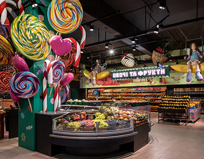 SILPO SUPERMARKET | CANDY SHOP