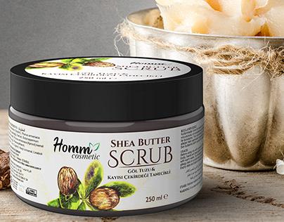 Homm Cosmetic New Scrub Series