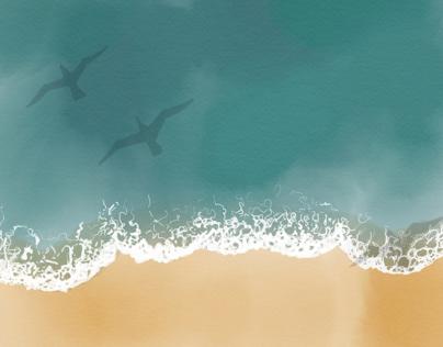 Beach-pattern