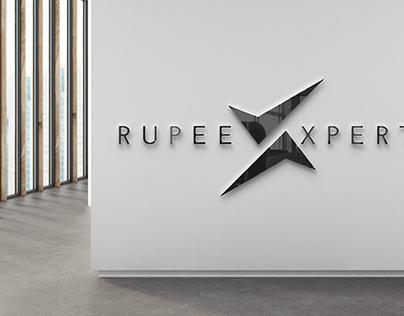 Rupee Xpert Logo Mockup