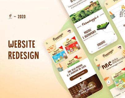 Parmareggio - UI/UX Website Redesign