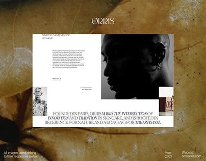 Orris Paris - Website
