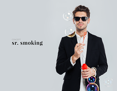 sr. smoking