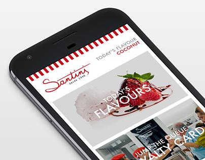 Santini App Concept 2013