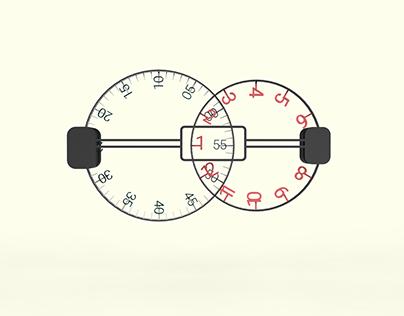 Venn Clock