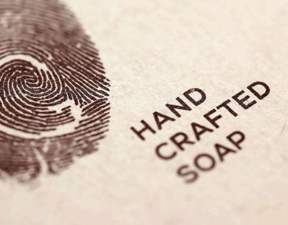 "Hand crafted soap ""By Gvantsa"""