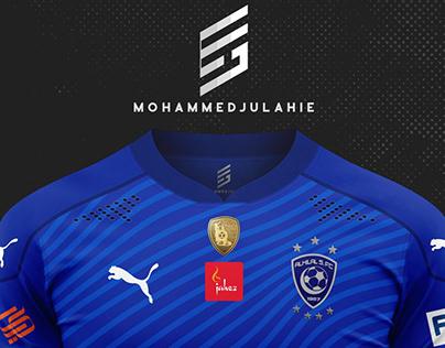 T Shirt Al Hilal 2021 Design