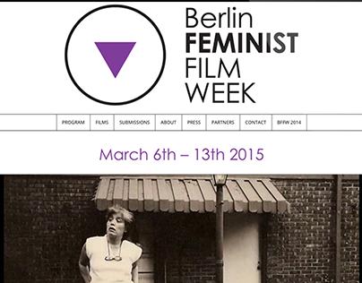 Berlin Feminist Film Week 2015