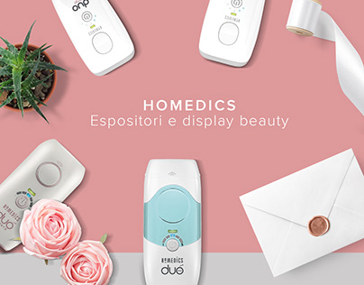HOMEDICS: Espositori e display beauty