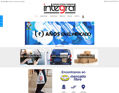 Diseño Web E-commerce