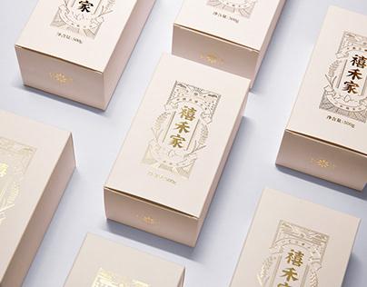 禧禾家品牌设计(Chinese Rice brand Design )