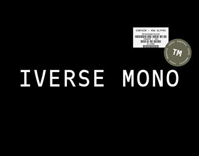 Iverse Mono™ Typeface