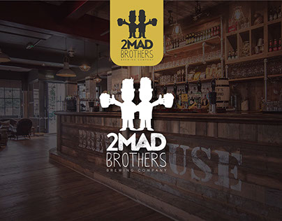 2 Mad Brothers Logo