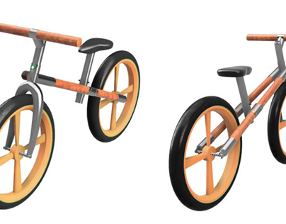 Bambike: Bamboo push bike