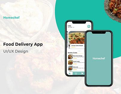 Homechef App Design