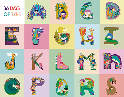 Illustrated Alphabets