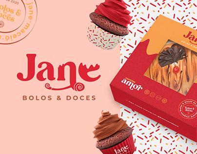 Jane Bolos & Doces | Branding