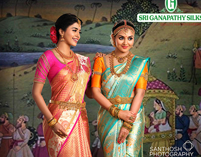 Sri Ganapathy Silks's Bridal Silk Sarees