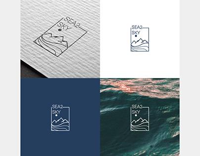Sea2sky logo design