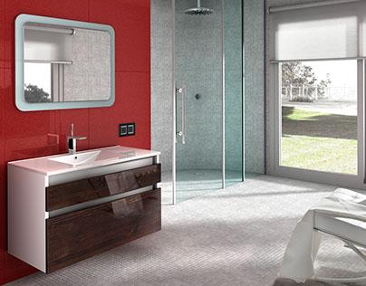 3D VISUALIZATIONS / Bathrooms