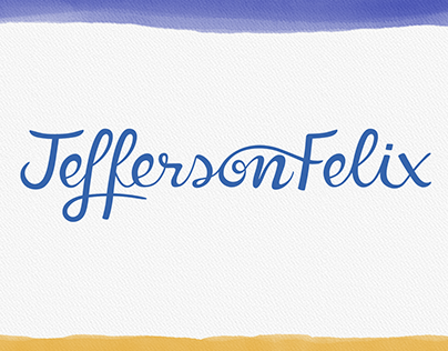 Identidade Visual - Jefferson Felix (Cantor)