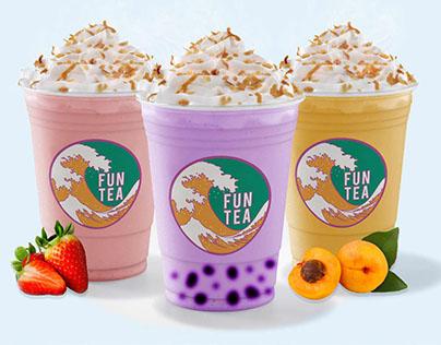 Fun Tea rebrand