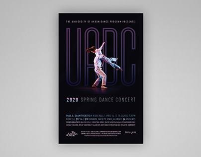 UA Dance Company Poster
