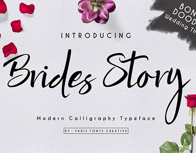 Brides Story Font