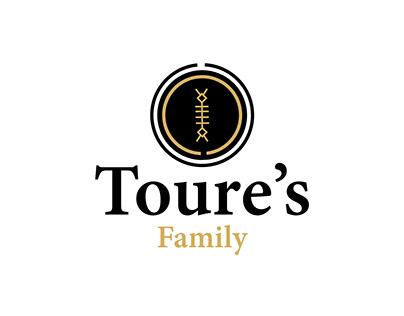Toure's Family logo