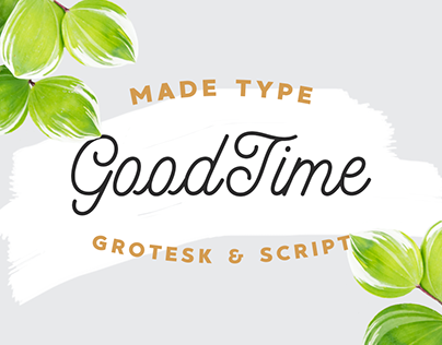 MADE GoodTime | Font