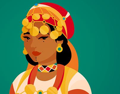 Amazigh woman