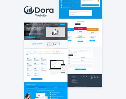 Dora - Website Redesign