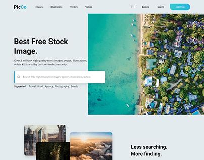 PicCo Web & App Design