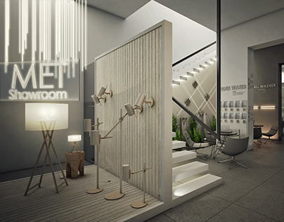 MET Lighting Showroom | New Cairo, Egypt