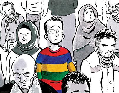 Gray City comic