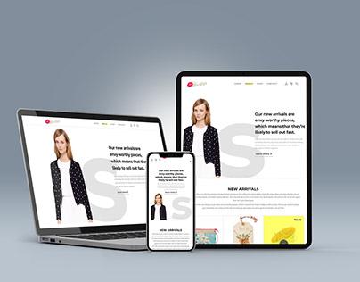 Gigi's Kiss of Style Boutique Website