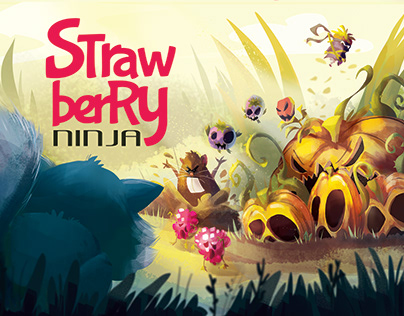 Strawberry Ninja - tabletop game