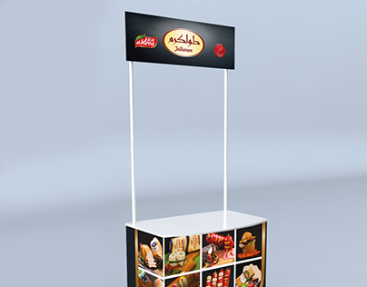 promotion stand design